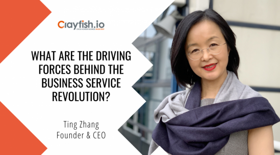 Ting's Blog: What are the driving forces behind the business service revolution?