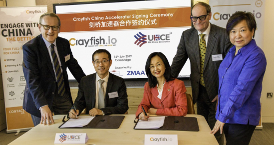 Crayfish.io launches the UK's first funded initiative to get businesses China-invest-ready