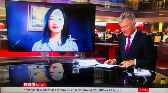 Ting Zhang on BBC News: UK-China business relations