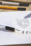 Designing a unique Chinese logo